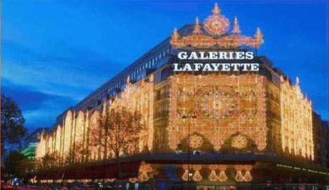 Les galeries Lafayette2