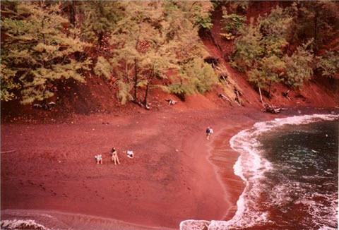 plages colores