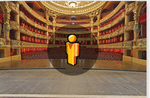 Opera de Paris par Google