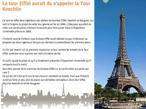 100 anecdotes sur Paris