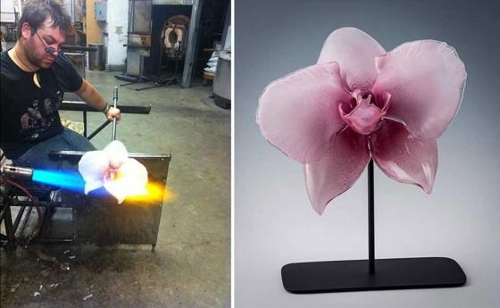 fleurs de verres